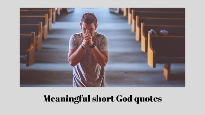 Powerful god quotes and sayings
