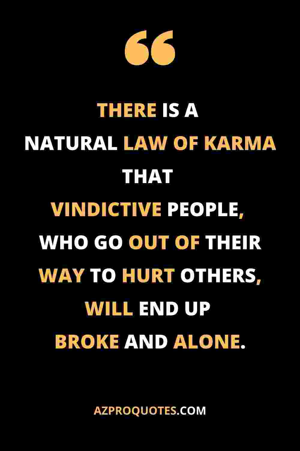 Law of karma quotes